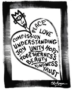 Art Compassion Peace Love