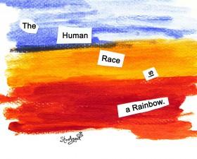 Human Race is a Rainbow